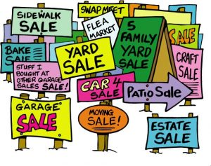 Real Yard Sales in the Pocatello and Chubbuck